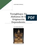 Tsongkhapa En  Alabanza de la Originación Dependiente
