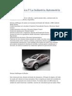 La Electrónica Y La Industria Automotriz