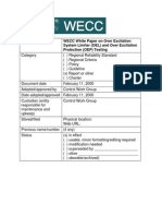 WECC White Paper on Over Excitation System Limiter