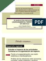 Planeacion Regional y Ordenamiento Territorial