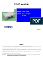 Epson stylus CX1500 Service Manual