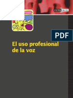 Uso Profesional Voz