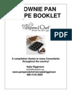 Brownie Pan Recipe Booklet