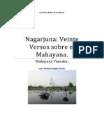 Nagarjuna Veinte Versos Sobre El Mahayana