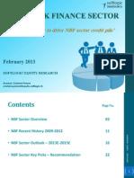 NBF Sector - February 2013