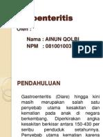 GE gastroenteritis kasus Powerpoint