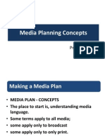 Media Planning Concepts