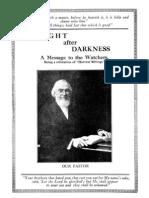 1917 Light After Darkness