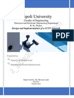 Design and Implementation of CCTV Network Thesis