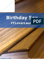 FFLoverLaura - Birthday Sex