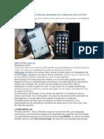 Se pueden aprovechar todas las capacidades de un dispositivo 4G en el Perú