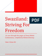 Swaziland Striving for Freedom Vol 2 Feb 2013