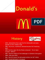 McDonalds Competitive Analysis Presentation 1