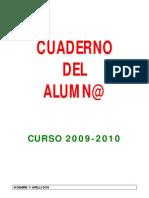 Cuaderno 2010