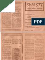 Swasti Edisi IV Jan 1998