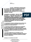 NOTA MODIFICACIÓN PGOU VERGEL OLIVAS