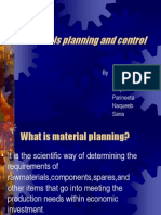 5584material Planning