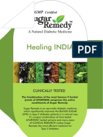 Sugar Remedy Brochure