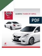 IMPUL Almera Brochure 2013