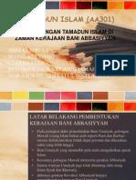 Tamadun Islam (PERKEMBANGAN TAMADUN ISLAM DI ZAMAN KERAJAAN BANI ABBASIYYAH)