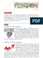 China News n. 3 Maggio 2012