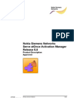 Serve AtOnce Activation Manager Rel. 5.0 Product Description