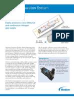 Nitrogen Generation System and Booster Data Sheet