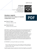 Amateur experts - 