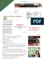 First Hibernate Application