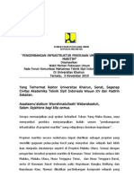 Pengembangan Infrastruktur Propinsi Maritim (Ternate)