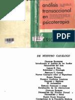 113968271 COMPLETO Analisis Transaccional en Psicoterapia Eric Berne