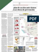 Lima tiene un plan de acción ante sismos pero realiza pocas obras de prevención