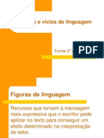Figuras e vícios de linguagem