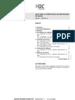 IPAC - Guia para Acreditação em Metrologia de Massa (Portugal)