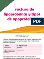 Lipoproteinas y Apoproteinas