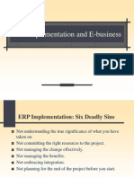 23982521 ERP Implementation and E Business