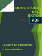 ARQUITECTURA DEL ÉXITO