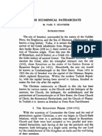 ISTAVRIDIS, V., The Ecumenical Patriarchate