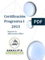 CERTIFICACIONES_Experto en Aplicaciones Office