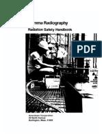 Amersham Gamma Radiography Safety
