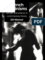 French Feminisms Gender and violence in contemporary theory