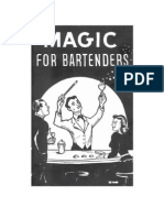 Magic For Bartenders