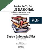 Soal Tryout Un 2012 Sma Sastra Indonesia Bahasa Paket 37