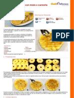 Ananas-alla-piastra-con-miele-e-cannella