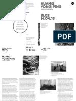 Visiting guide for Huang Yong Ping exhibition at MAC Lyon 2013