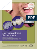 Provisional Fixed restorationsa