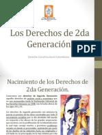 Los Derechos de 2da Generación