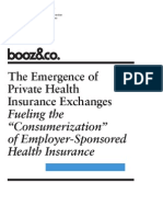 BoozCo Emergence Private Health Insurance Exchanges