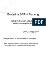 Guideline SRAN-Planung V01 Stand 28 03 2011