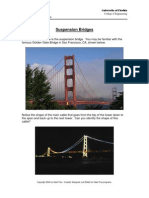 Suspension Bridge - Lecture and Problems HS